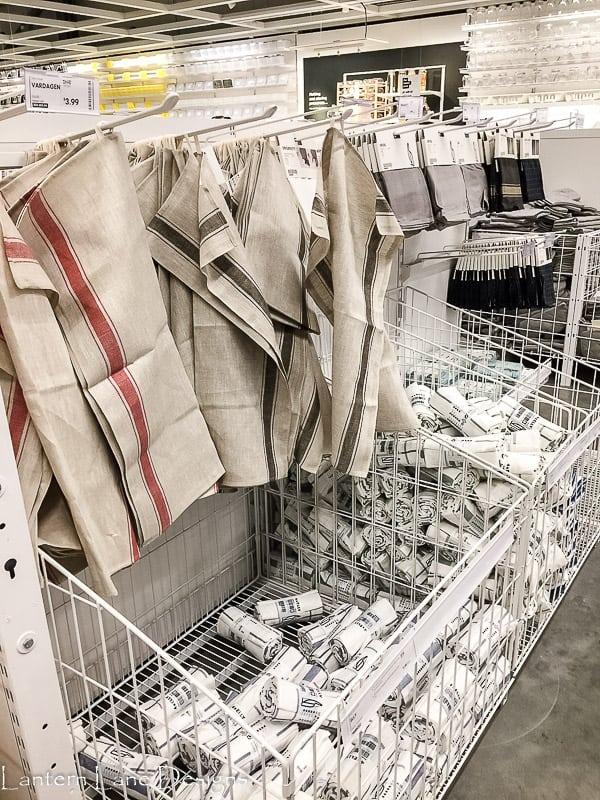 Dishtowels at IKEA
