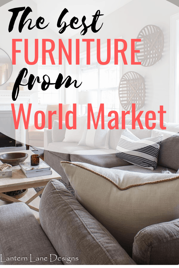 The best furniture from World Market