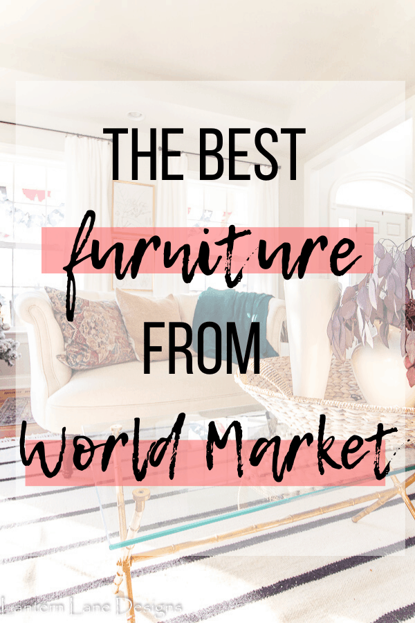 Furniture from World Market