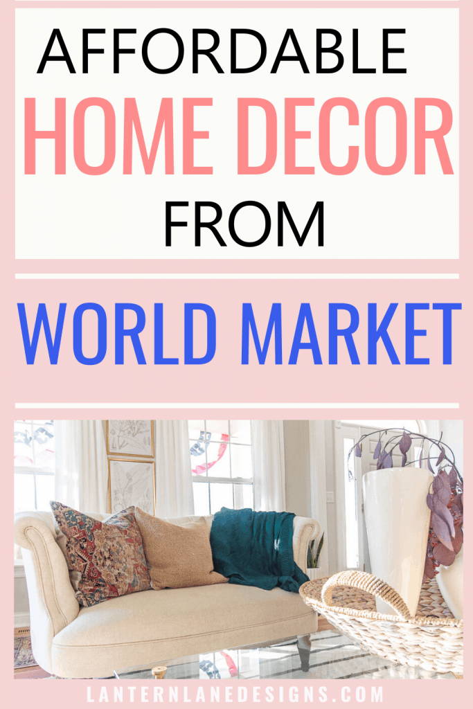 Home Decor From World Market