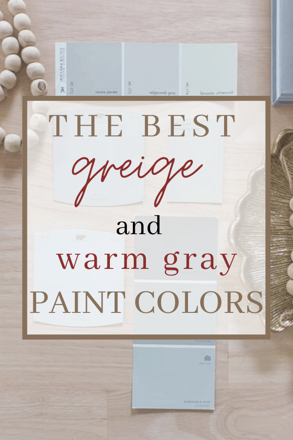 The best greige paint colors