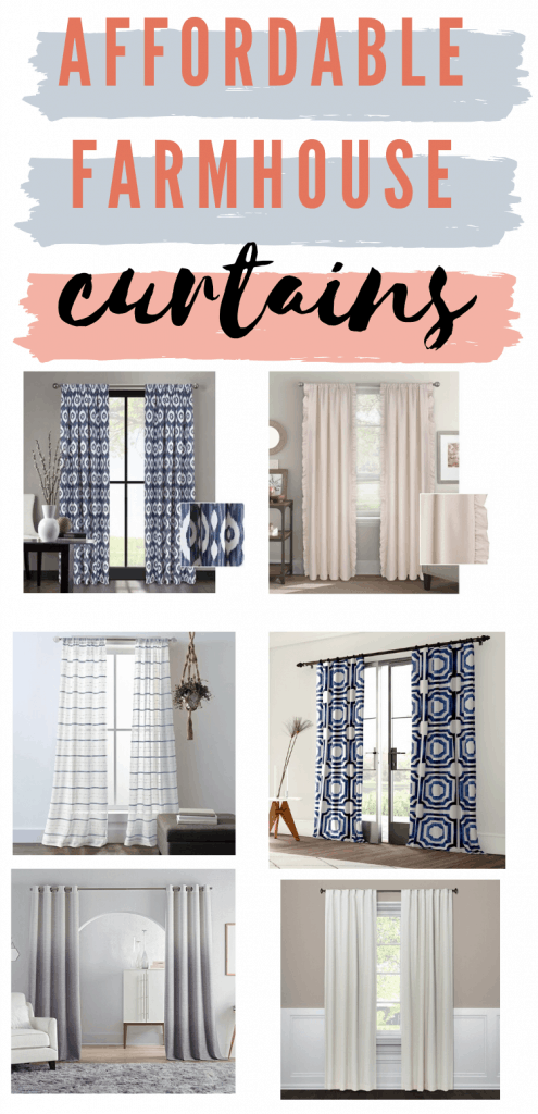 Affordable Farmhouse Curtains