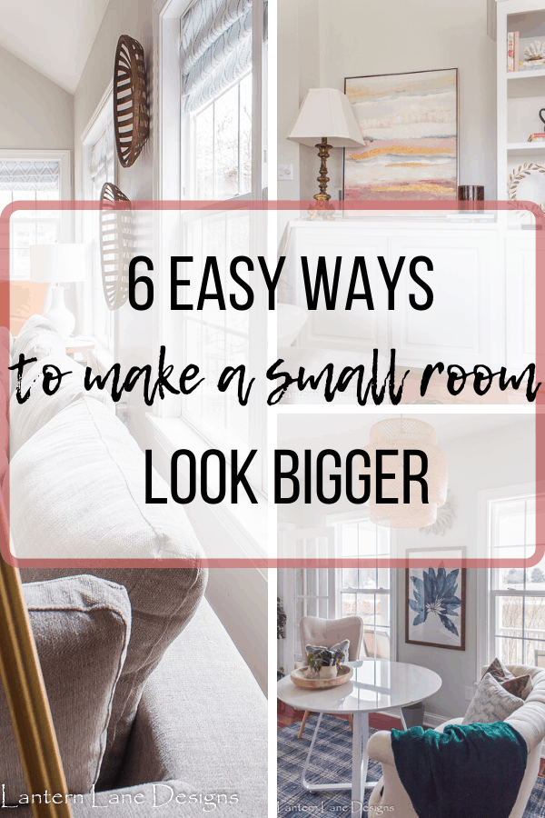 Easy Way To Make Small Room Look Bigger