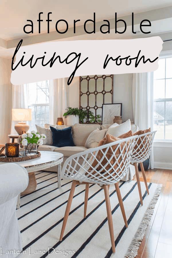 affordable living room decor ideas