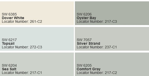 Dover White Paint Color