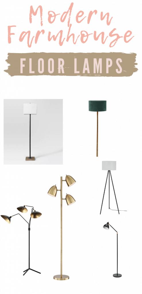 Modern Farmhouse Floor Lamps