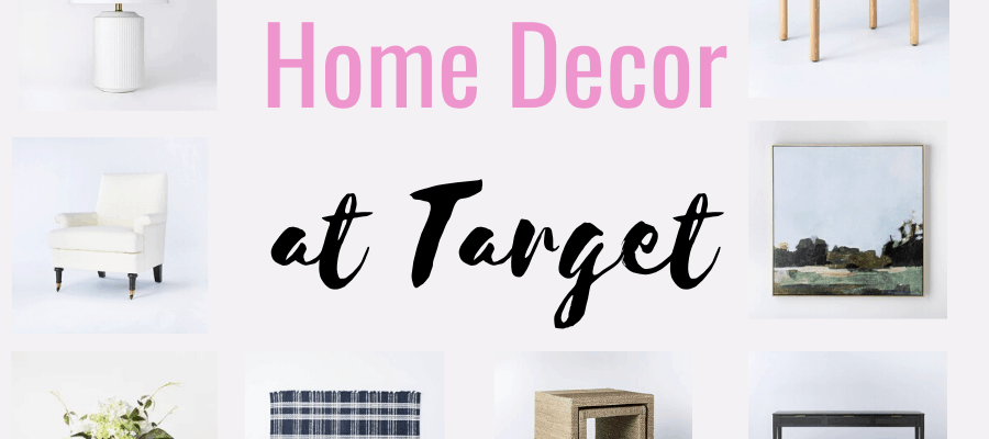 The Best Home Decor From Target