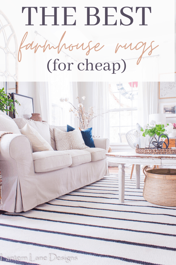The best farmhouse rugs