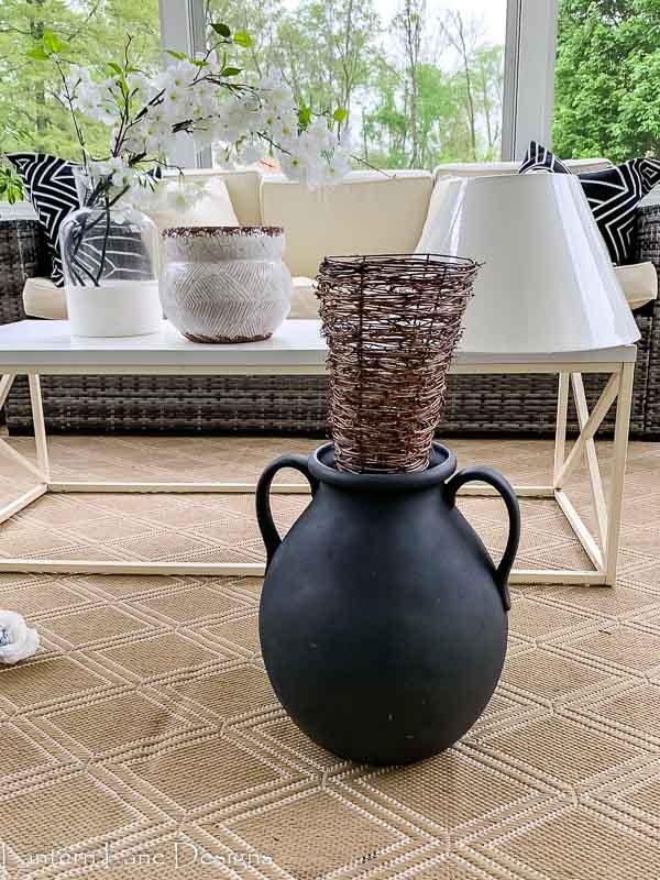 DIY Outdoor Vase