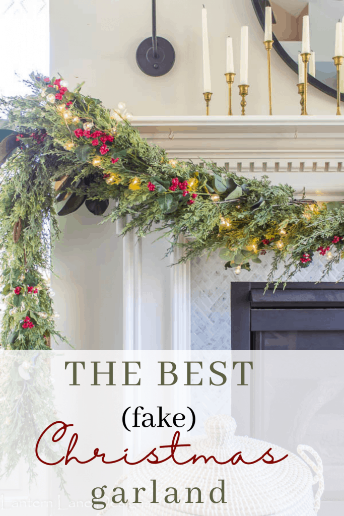 Where to find the best fake garland for Christmas