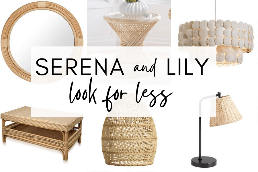 Serena and Lily Look For Less