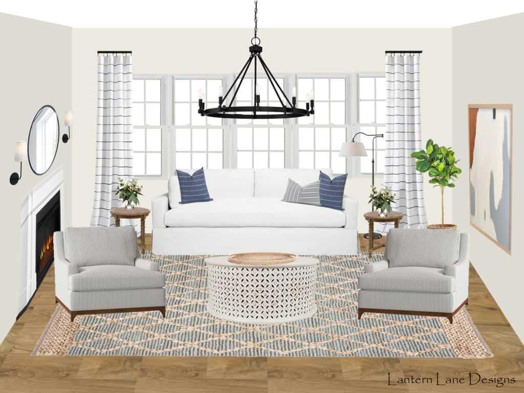 E-Design Living Room