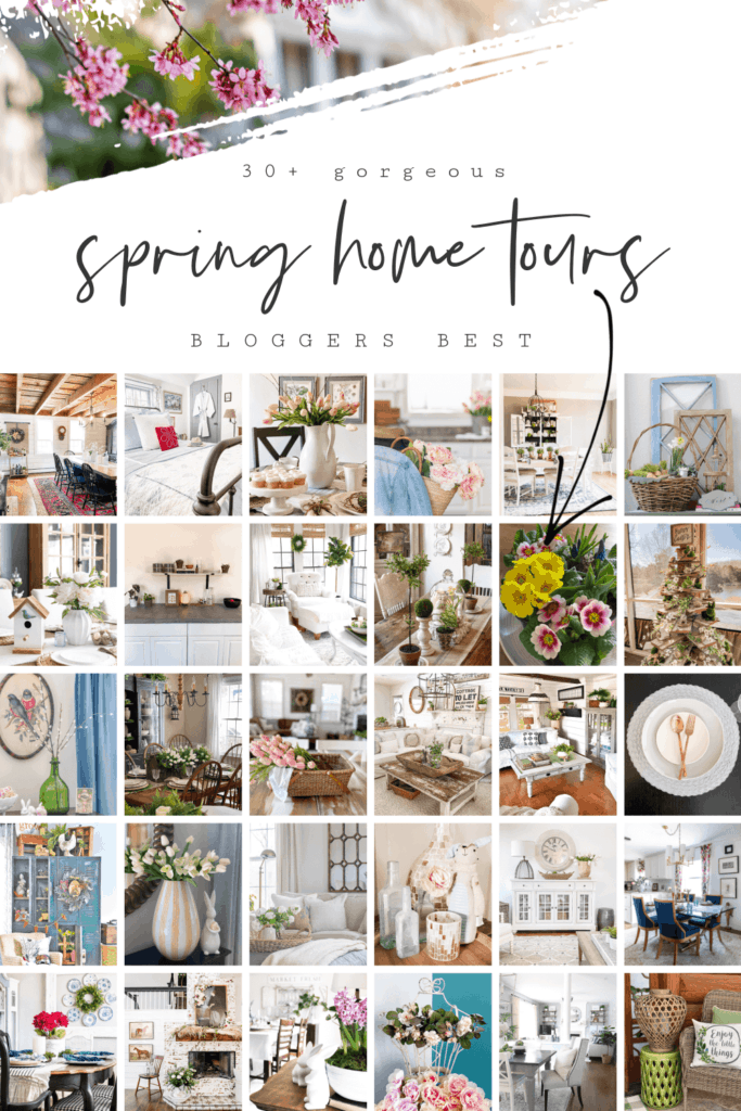 Bloggers best spring home tour