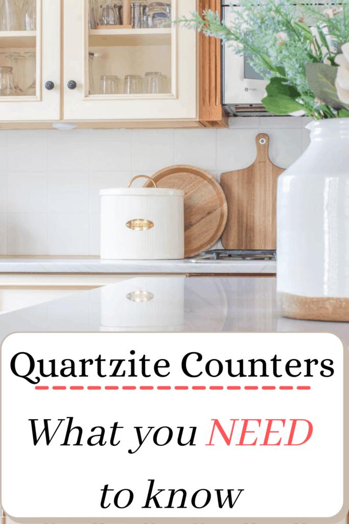 Quartzite counters