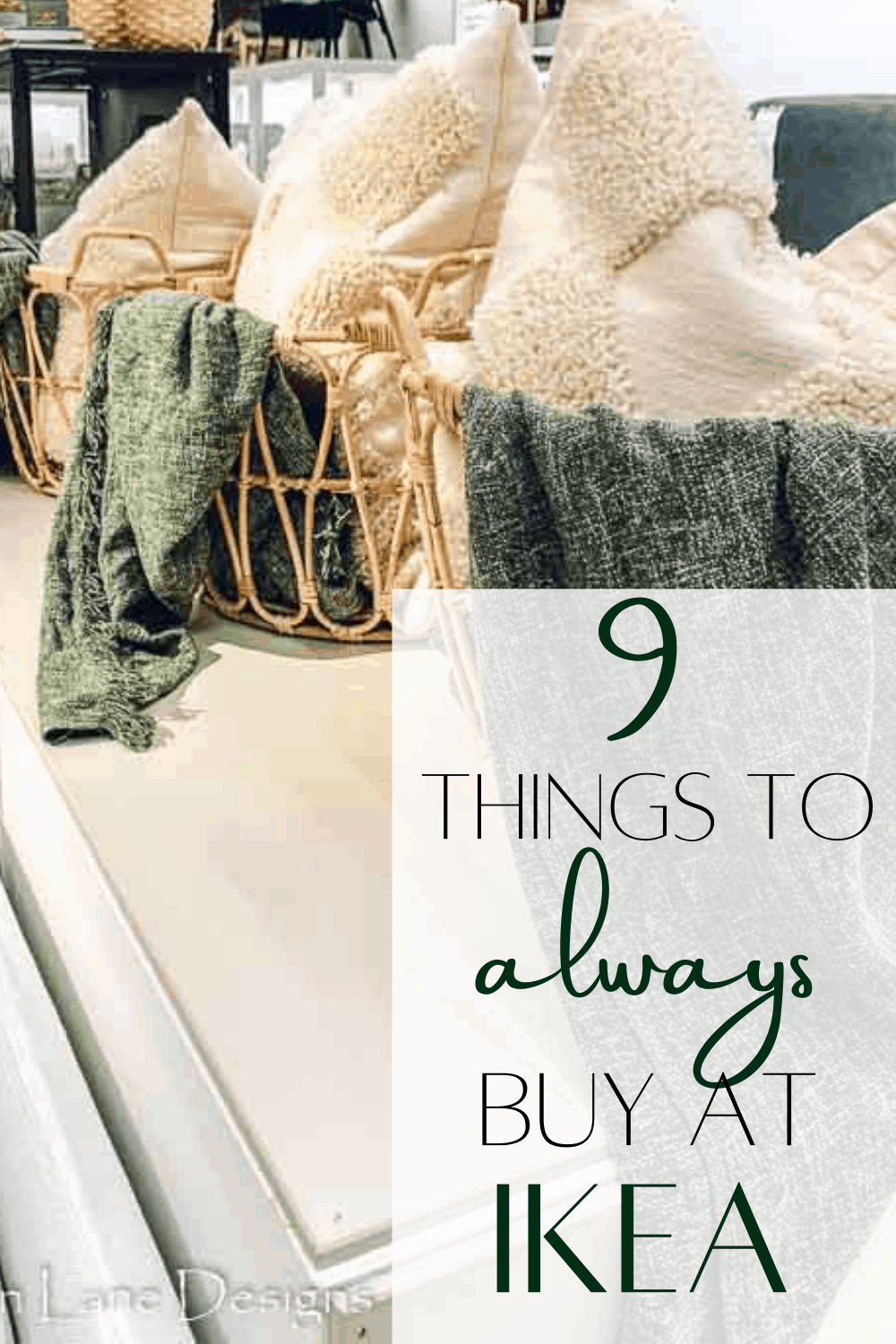 9 things to always buy at IKEA