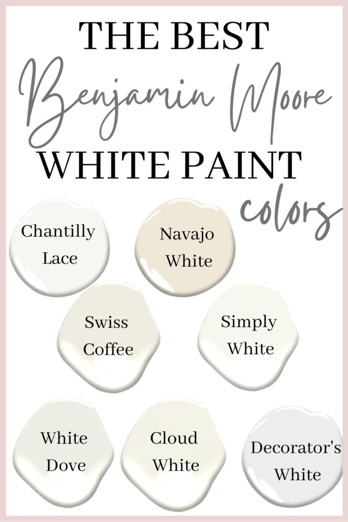 Benjamin Moore White Paint Colors