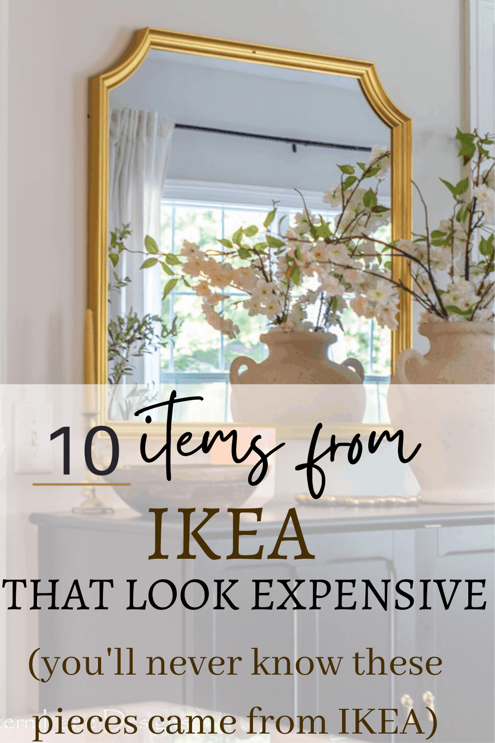 Items from IKEA that look expensive