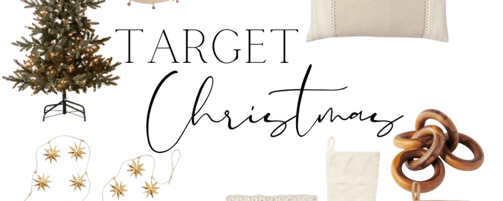 Target Christmas Decor (Round 1)